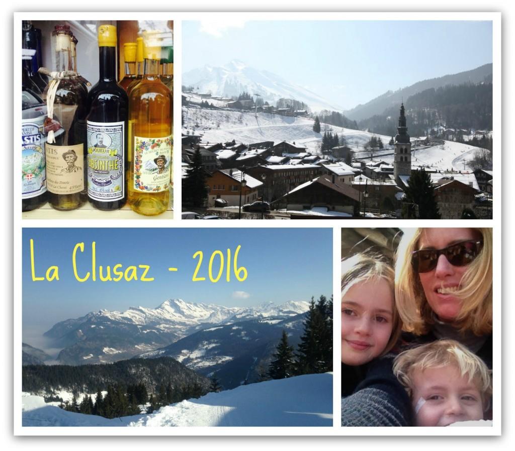 wintersport vakantie La Clusaz Franse Alpen