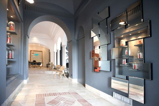 Ile de la Lagune luxe hotel eiland Languedoc
