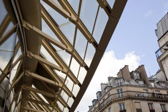 Forum des Halles architectuur Parijs vernieuwd winkelcentrum