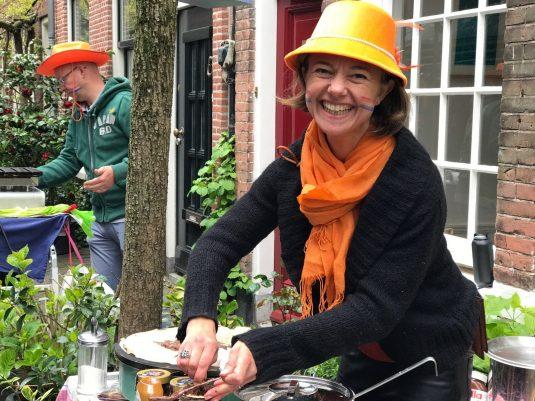 Carole Nederlanders gezellig