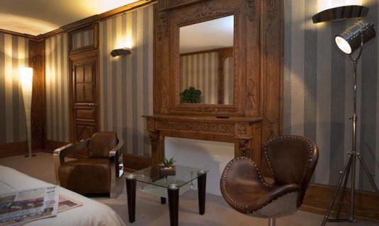 Chateau d Orfeuillette kamer Eiffel hotel Lozere
