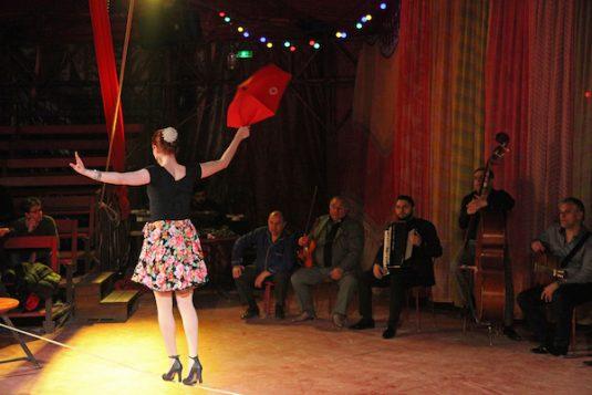 zigeunercircus in Parijs
