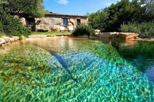 10 gaafste zwembaden - Domaine de Murtoli (Corsica)