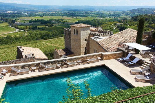 10 gaafste zwembaden - Hotel Crillon-le-Brave Mont Ventoux