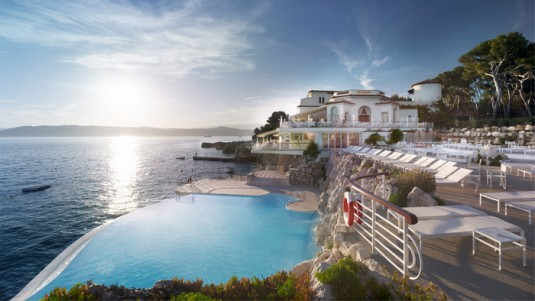 10 gaafste zwembaden - HOtel du Cap Eden Roc