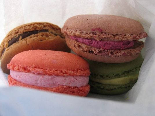 Franse patisserie macarons