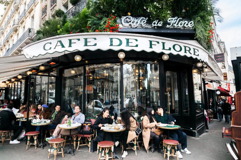 Cafe de Flore in Parijs