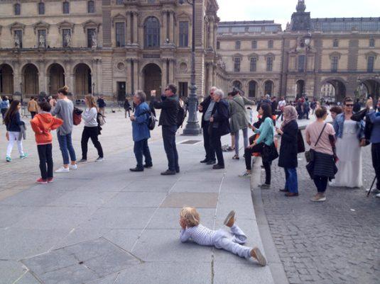 JR Louvre Paris