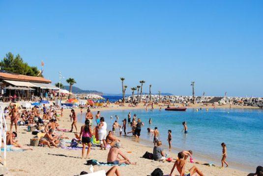 Toulon zonnigste steden