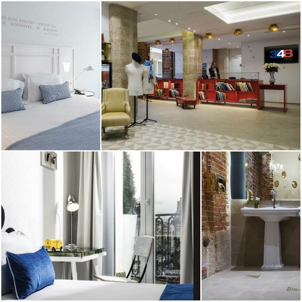 Nieuwe hotel le 34 b in Parijs