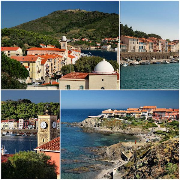 Catalaanse Port Vendres, de meest zuidelijke vissershaven van de Franse kust