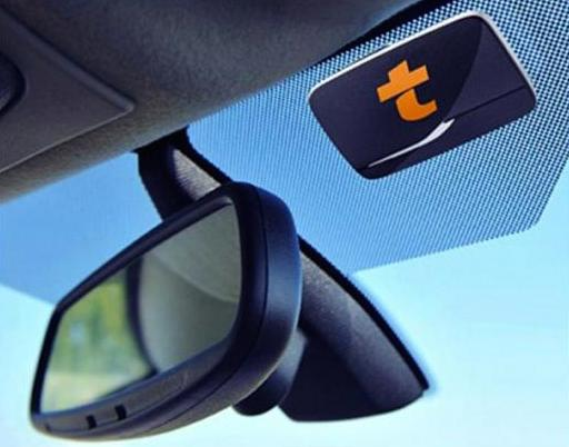 tolbadge sneller over de Franse autosnelwegen