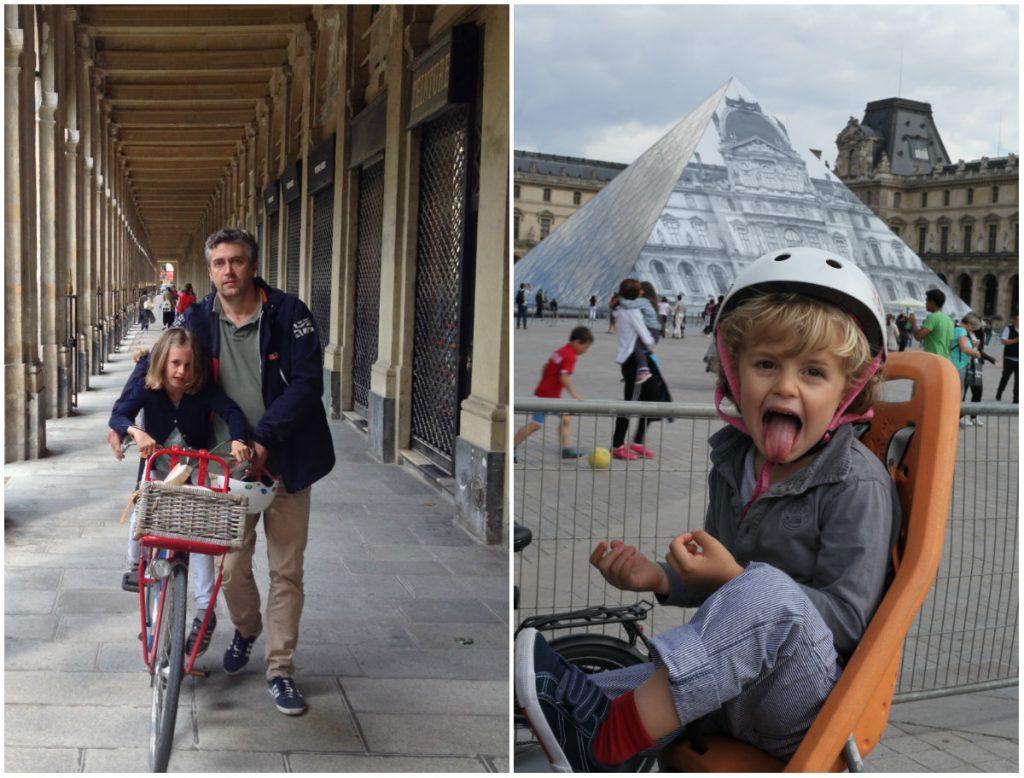 Paris by Bike fietsen in Parijs fietstour fietstocht kinderen
