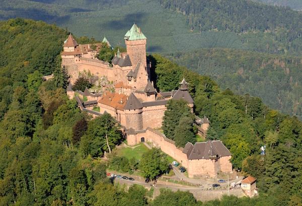 Chateau du Haut Koenigsbourg, Elzas, Frankrijk
