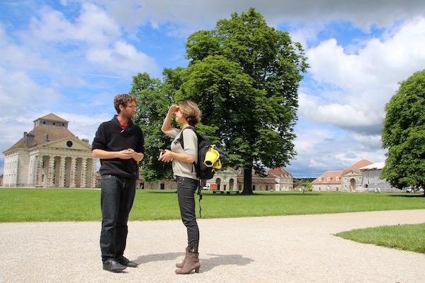 Carole bezoekt de Saline Royale in de Jura