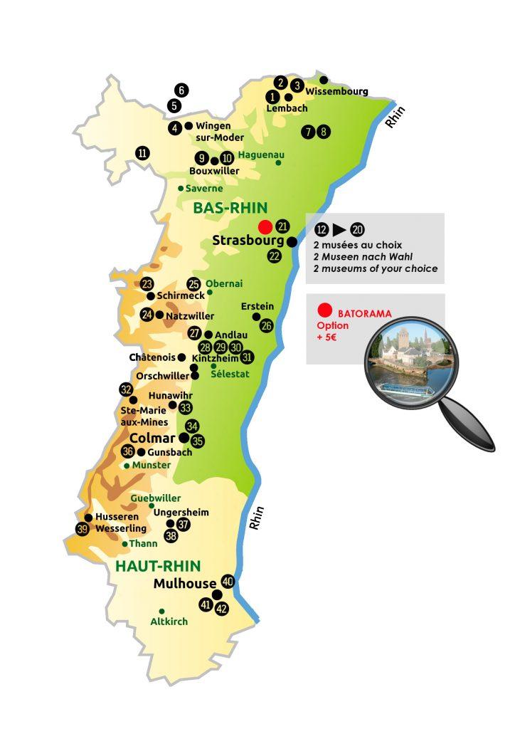 Pass Alsace: kortingen op bezienwaardigheden in de Elzas