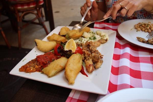 Escalina restaurant in Nice oude binnenstad