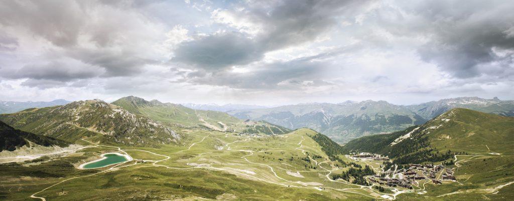 La Plagne zomer Franse Alpen bergwandelen uitzicht
