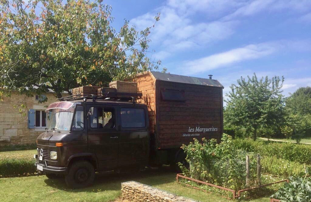Massagebus in de Dordogne
