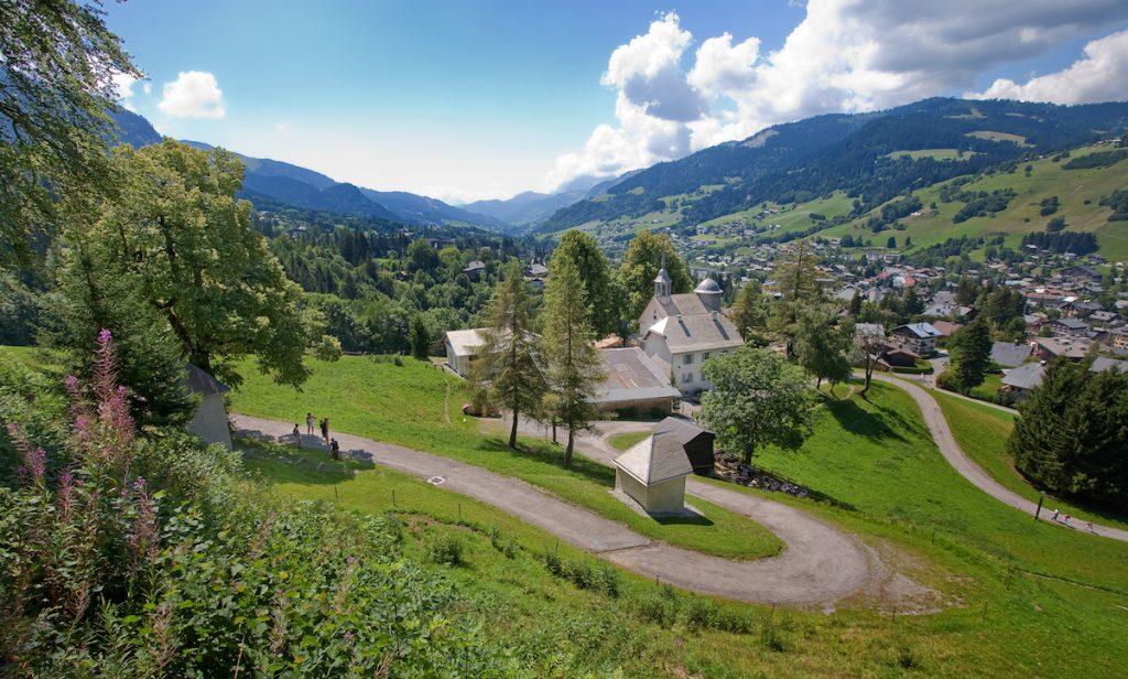 Megeve Franse Alpen zomer bergen wandelen zomervakantie