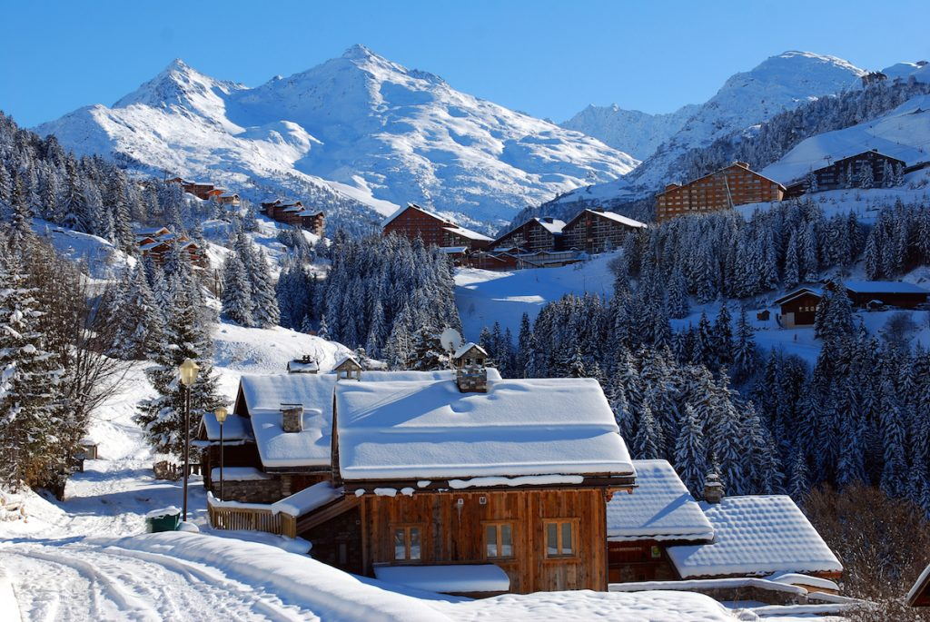 Meribel Les Trois Vallees ski wintersport