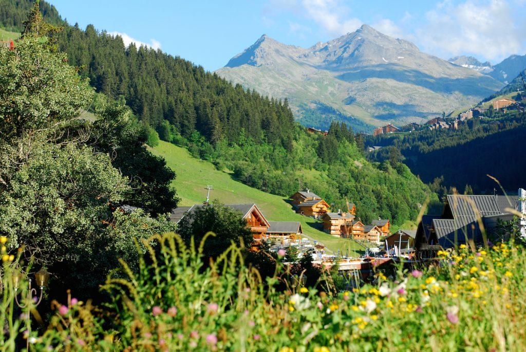 Meribel les Trois Vallees wandelen Franse Alpen bergen zomer