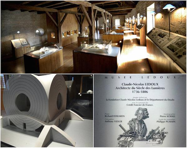 Musee Ledoux: eerbetoon aan architectuur