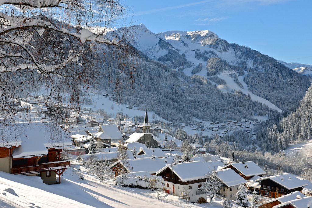 Chatel Portes du Soleil wintersport sneeuw Franse Alpen