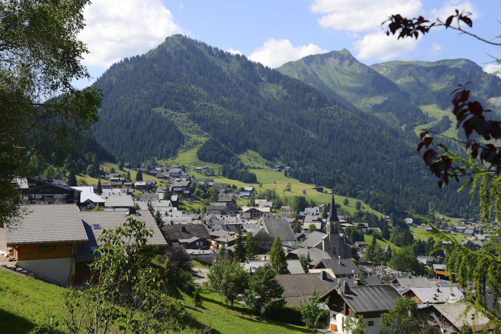 Chatel Portes du Soleil wintersport zomer Franse Alpen