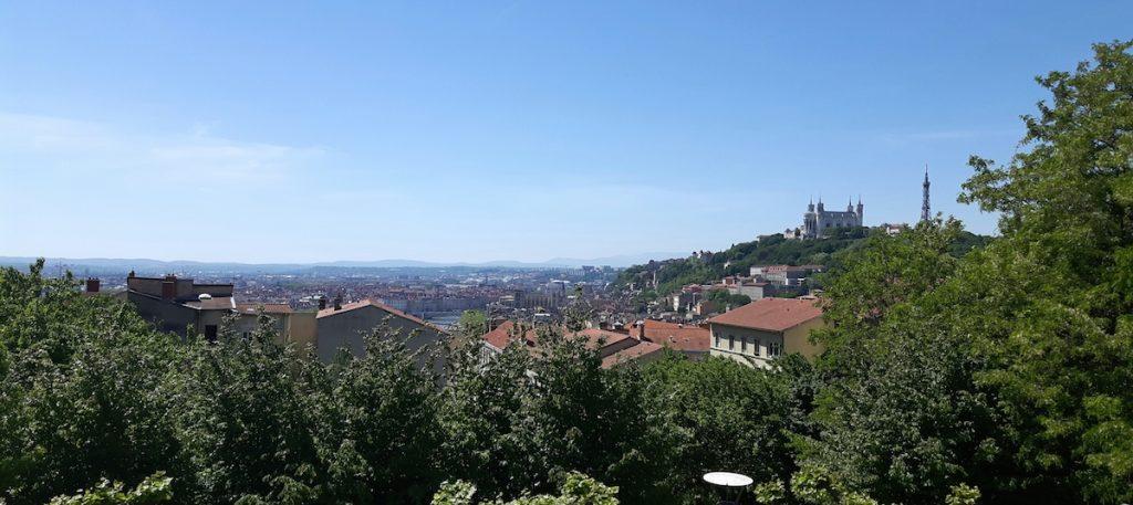 Lyon bezoektips tussenstop stedentrip leuk om te zien La Croix-Rousse uitzicht Fourviere