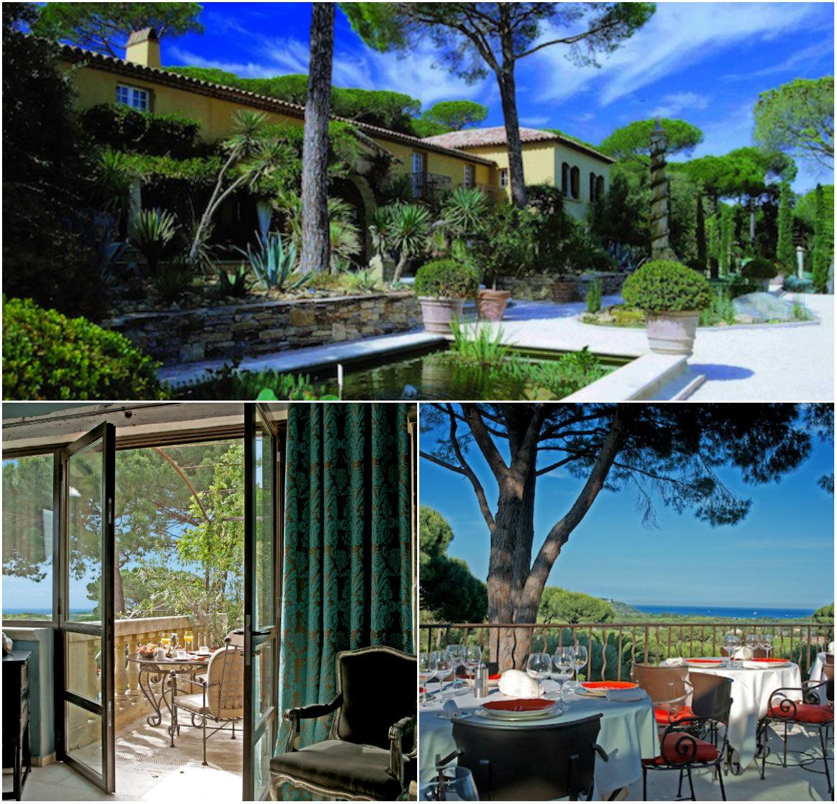 Luxe charmehotel Villa Marie bij Saint tropez