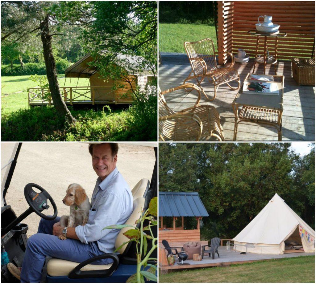 Bretagne glamping camping safaritenten lodgetenten familie vakantie