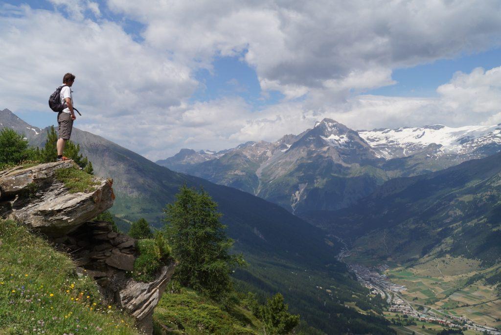 Haute Maurienne in de zomer Franse Alpen bergen
