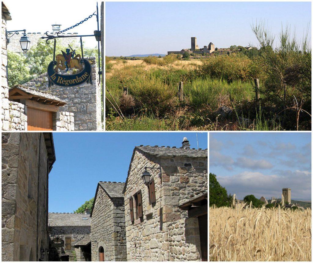Mooiste dorpen van de Languedoc La Garde-Guerin Lozere