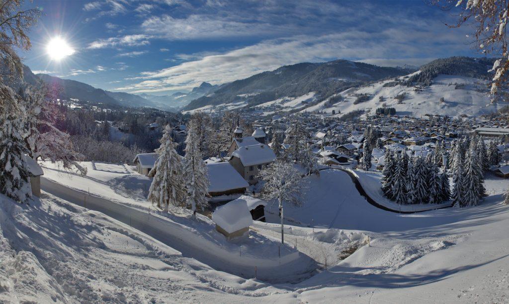 Megeve Franse Alpen wintersport mooi skidorp