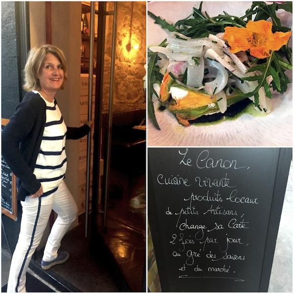 Le Canon, intiem restaurantje in hartje Nice