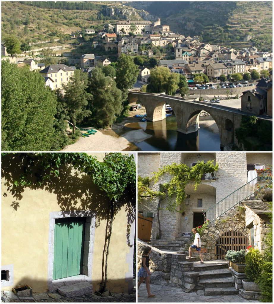 Mooiste dorpen van de Languedoc Sainte-enimie