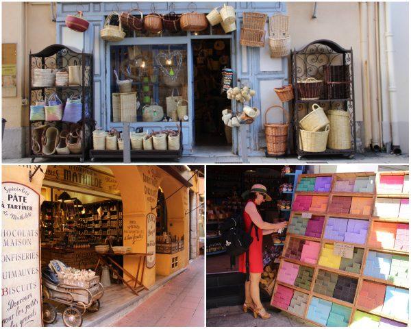 Lokale produkten winkels in Nice