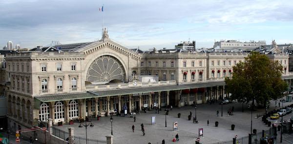 Station Gare de l'Est in Parijs