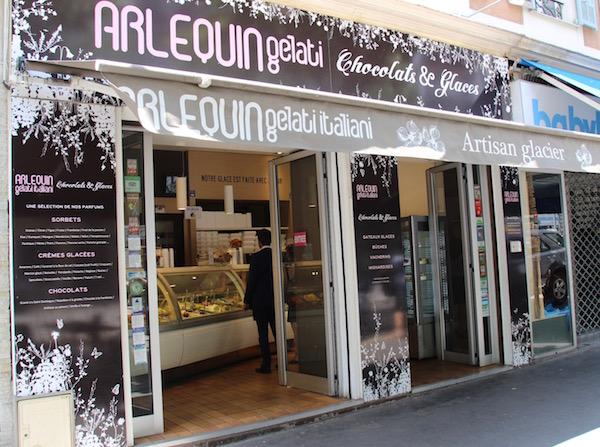 Glacier Arlequin in Nice: de beste ijs van de stad