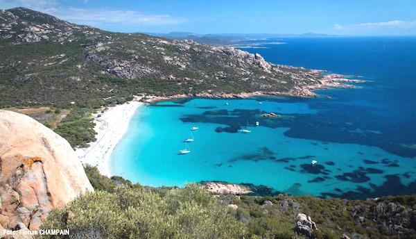Strand Roccapina mooiste stranden Corsica