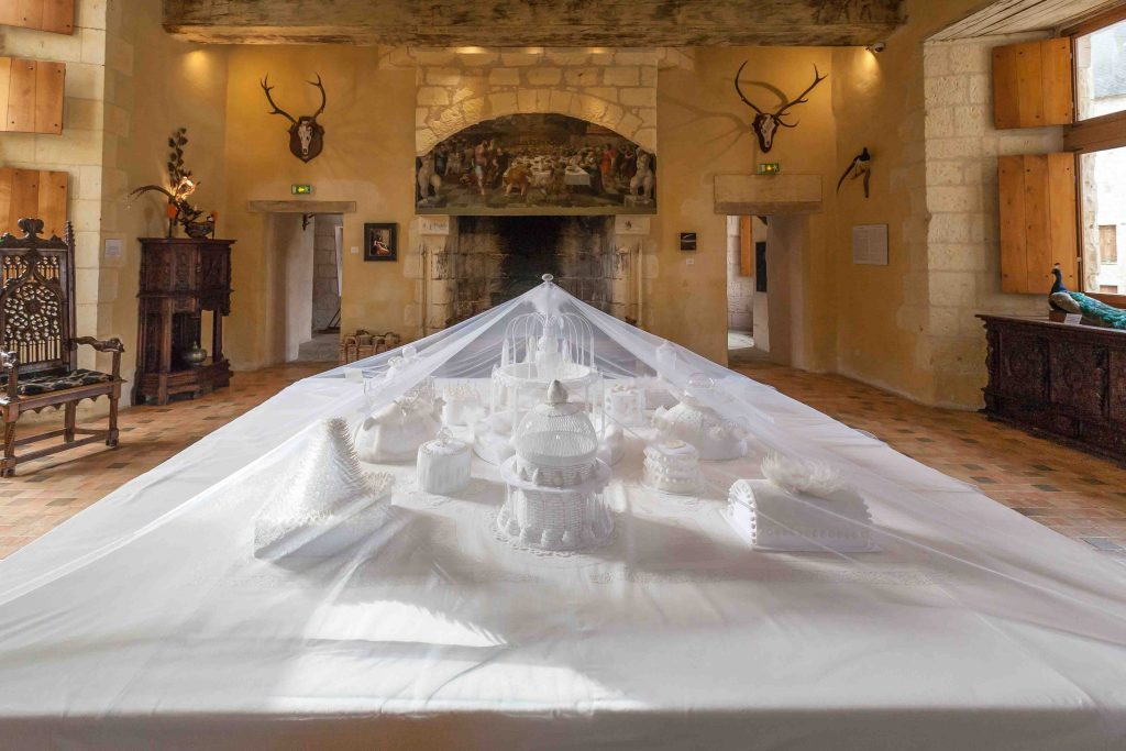 chateau du Rivau Loirekasteel mooie tuinen moderne kunst