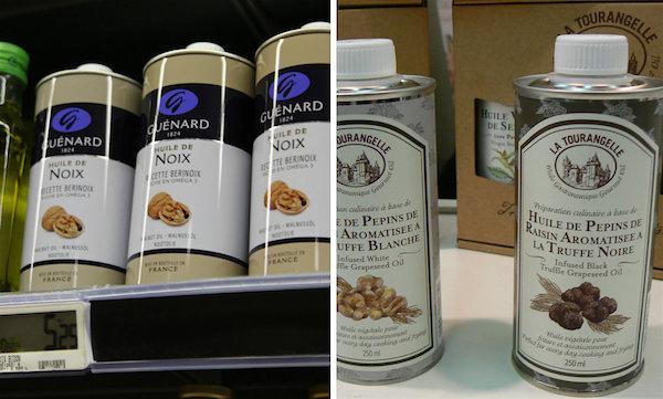 Meenemen uit de Franse supermarkt leuke spullen olie