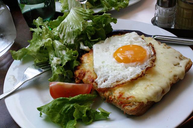 croque monsieur croque madame Franse tosti bistro