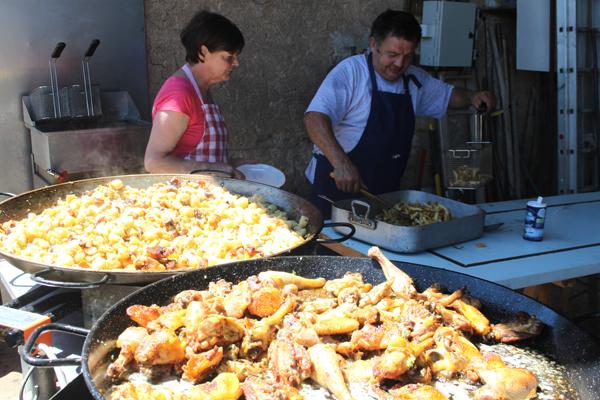 avondmarkt eetmarkt dordogne zomer lot-et-garonne
