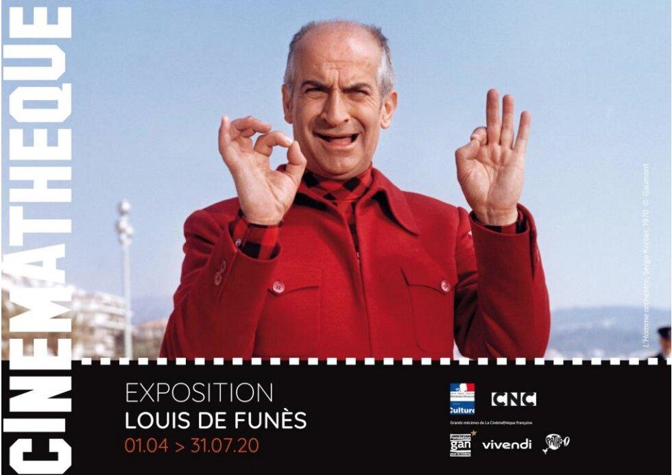 Louis de Funès expositie Cinemathèque Paris