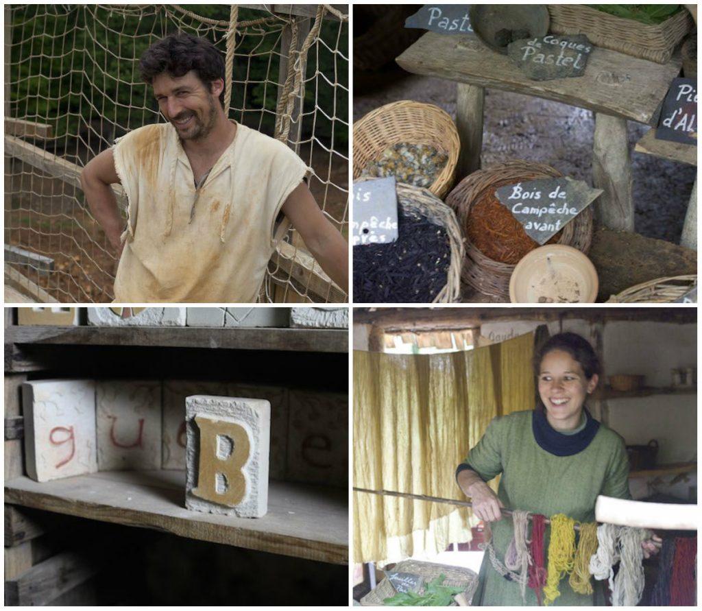 Guedelon familieattractie Bourgogne