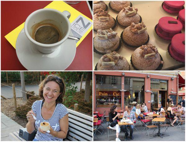 taarten chocola en andere lekkernijen in Nice
