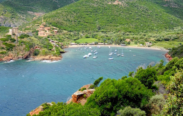Strand Graduele mooiste stranden Corsica