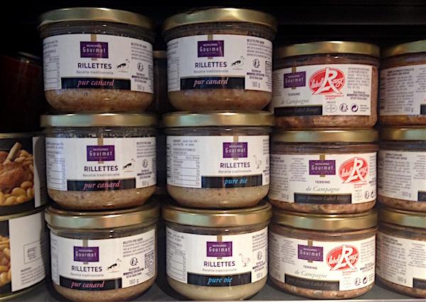 Meenemen uit de Franse supermarkt leuke spullen rilletjes